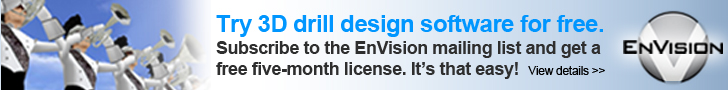 Try EnVision 3D Drill Design Software for Free.