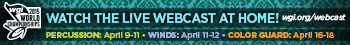 2015 WGI World Championships - Watch the live webcast at home