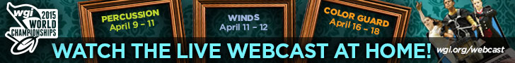 Watch the 2015 WGI Championships Live Webcast at Home!