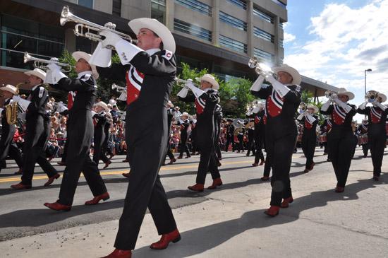 Calgary Stampede Parade Calgary Alberta Canada