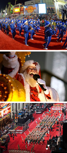 The Christmas Parade Hallmark.Hollywood Christmas Parade Los Angeles California
