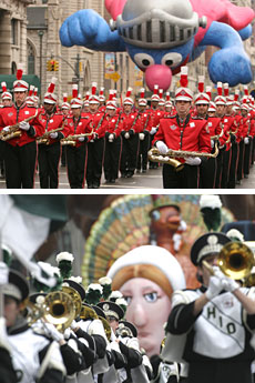 c5538e9baa2 Macys Thanksgiving Day Parade Photos. Awesome Original Second Time  Arounders Marching Band ...