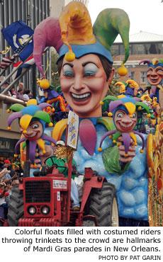 New Orleans Mardi Gras Parades