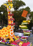 Rose Parade Float