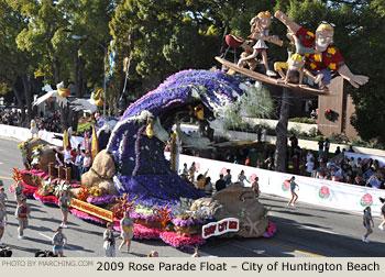 Tournament Of Roses Parade 2017 >> 2009 Pasadena Tournament of Roses Parade Photos - Floats : MARCHING.COM