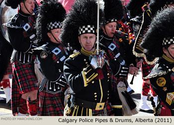 2011 Calgary Stampede Parade Marching Band Photos