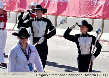 2011 Calgary Stampede Parade Marching Band Photos