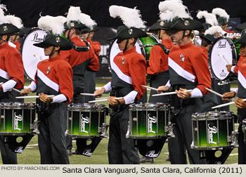 Santa Clara Vanguard Drum and Bugle Corps 2011 DCI World Championships Photo