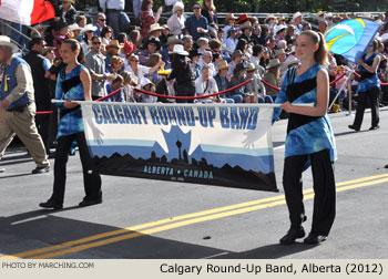 2012 Calgary Stampede Parade Marching Band Photos