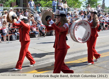 2012 Calgary Stampede Parade Marching Band Photos