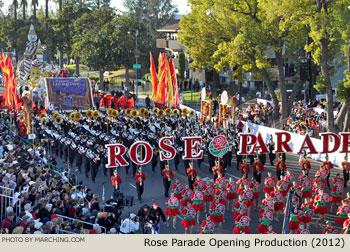 2012 Pasadena Tournament of Roses Parade Photos - Marching Bands ...
