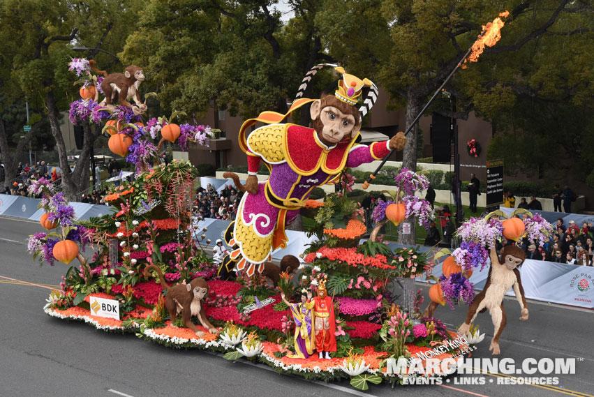 2017 Pasadena Tournament of Roses Parade Photos - Floats ...