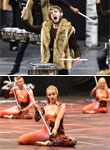 Winter Guard and Percussion Photos